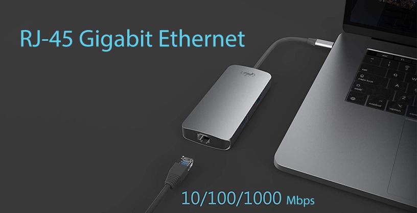 Adaptor multiport PNI MP07 USB-C