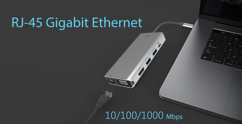 Adaptor multiport PNI MP10 USB-C