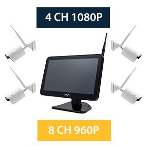 Kit supraveghere video PNI House WiFi650