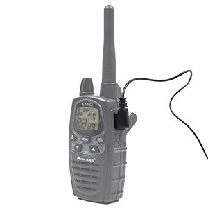 Casti cu microfon Midland MA35-L cu 2 pini