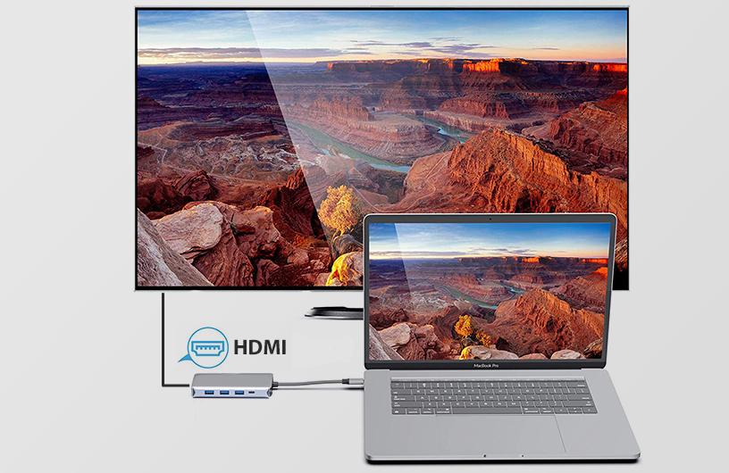 PNI MP09 da USB-C a HDMI