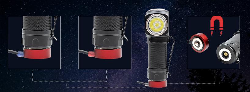 Lanterna de cap PNI Adventure F75 cu led CREE