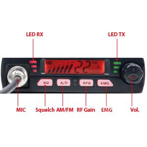 statie radio CB PNI Escort HP 7110 ASQ