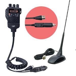 Adaptor PNI pentru alimentare 12V si antena