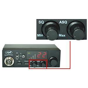 Statie radio CB PNI Escort HP 8024 cu ASQ