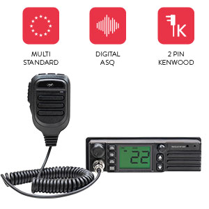 CB PNI Escort radio station HP 9500