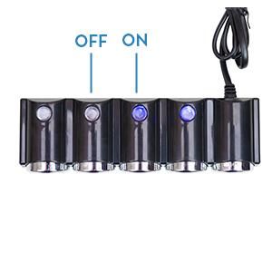 Splitter accendisigari auto PNI Lighter 04 12V / 24V