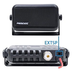 Difuzor extern President HP-2 pentru statii radio