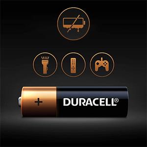 Batteria Duracell più AA alcalina