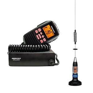 kit statie radio antena cb president