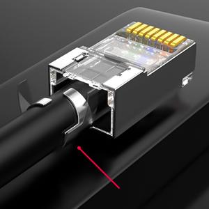 Mufa PNI RJ45 pentru cablu S/FTP CAT7