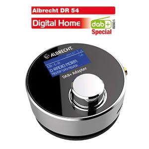 Radio digital DAB+ Albrecht DR 54