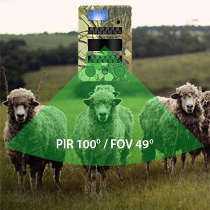 Vadászkamera PNI Hunting 2C, 8MP, 720P