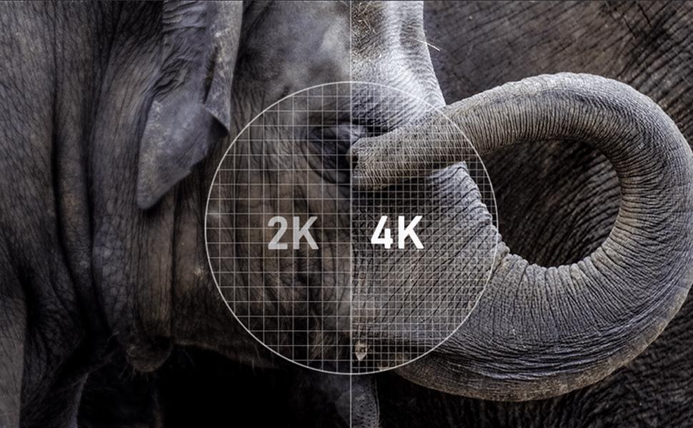 4K UHD image quality