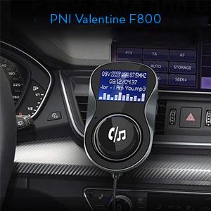 Modulator FM PNI Valentine F800 Bluetooth
