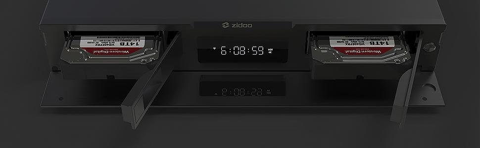 Mini PC PNI Zidoo UHD3000 Android 9.0