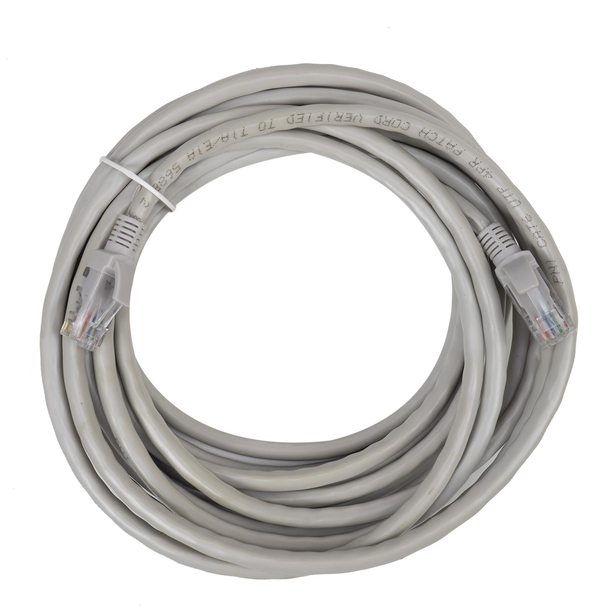 Cablu de retea, ethernet, patch, mufat
