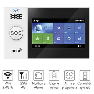 Sistem de alarma wireless PNI SafeHouse HS650 Wifi GSM 4G