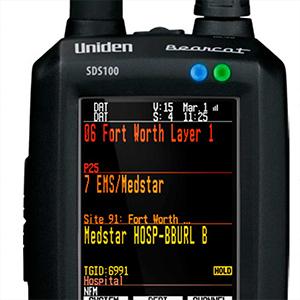 Scaner Uniden SDS100E + DMR Activat +NXDN