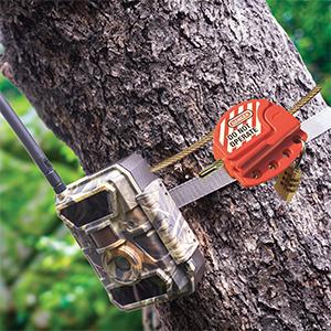 Cablu securitate cu lacat PNI Smart Lock pentru camere de vanatoare PNI