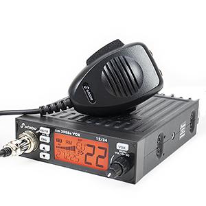 Station de radio AM-FM CB STABO XM 3008E, 12-24V