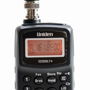 Scanner Uniden EZI33XLT Plus 78-174 MHz
