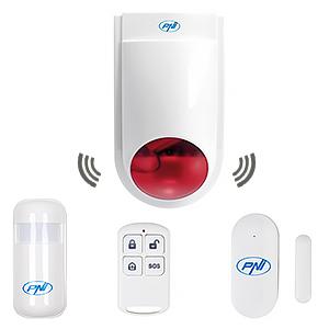 Sirena da esterno wireless PNI SafeHouse HS007LR