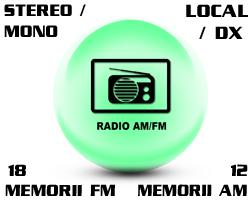 PNI Clementine 8210 radio FM